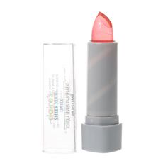 This translucent glitter pink lip color will look perfect with a smokey eye for the party season. Jelly Lipstick, Glitter Lipstick, Lipstick Colors, Makeup Lipstick, Lip Colour, Gloss Repulpant, Pink Lip Gloss, Hot Pink Lipsticks, Flavored Lip Gloss