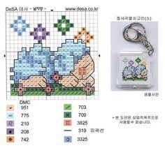 Cross Stitch World: Cross stitch:_ SHEEPS