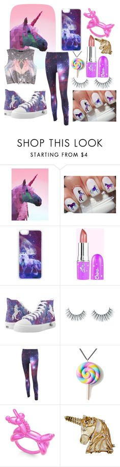 """""""""""Unicorns I Love Them..."""" - Contest Entry"""" by bhappygirlz ❤ liked on Polyvore featuring Forever 21, Unicorn Lashes, Unicorn Crafts, Kate Spade and Seaman Schepps"""