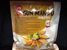 Gun Mandu, gefüllte vegetarische Teigtaschen, Korea, 540g