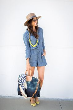 Image Via: Stylin by Aylin in the Level 99 Chamray Romper