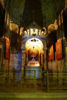 "Jerusalem 'Mount Zion' ""Church of the Holy Sepulcher'"