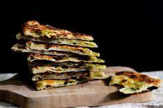 Multi-Layered Scallion Pancakes, a recipe on Food52