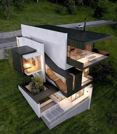 modern houses top building photo modern house design modern house exterior You can fix your home exterior design even if you do not have much money. In this article I am architecture house modern house plans modern architecture house styles Modern Minimalist House, Modern House Design, Home Design, Design Ideas, Minimalist Design, Design Blogs, Home Exterior Design, Design Inspiration, Small Modern Houses