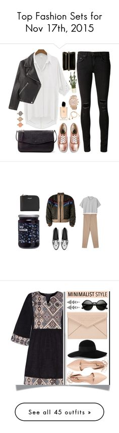 """""""Top Fashion Sets for Nov 17th, 2015"""" by polyvore ❤ liked on Polyvore featuring Vans, rag & bone/JEAN, Happy Plugs, Michael Kors, Zara, Giorgio Armani, Comme des Garçons, casual, vans and rosegold"""