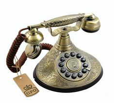 GPO Duchess Classic Vintage Telephone with push button: Amazon.co.uk: Electronics