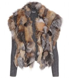 ♥♥♥ MIUMIU Cardigan with Fur Vest