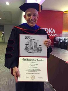 We are so proud of Mattress Mack for receiving an honorary doctorate from the University of Houston! The University of Houston is a true example of America's best in higher education and we're so privileged to have them right here in our beloved city! Congratulations Mack and thank you to U of H! | Houston TX | Gallery Furniture |