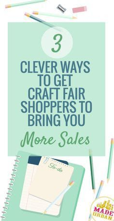 How Craft Show Shoppers can Help Promote your Product - Made Urban You can only reach so many people on your own but if you use the ideas in this article, you get your tribe to start marketing for you. Craft Fair Displays, Display Ideas, Craft Booths, Booth Displays, Fashion Business, Craft Business, Business Ideas, Creative Business, Business Notes