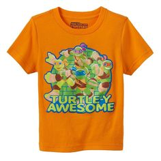 "Toddler Boy Teenage Mutant Ninja Turtles ""Turtle-y Awesome"" Tee, Size:"