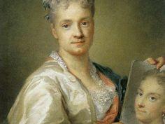 Rosalba Carriera (Veneto), Autoritratto con il ritratto della sorella, 1715. Galleria degli Uffizi, Firenze