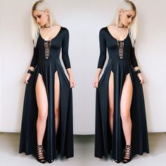 9309 Likes 95 Comments BlackMilk Clothing bla Witch Fashion, Dark Fashion, Gothic Fashion, Black Milk Clothing, Mode Outfits, Fashion Outfits, Womens Fashion, Fashion Fashion, Goth Outfit