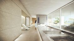 Resort Hotel and Spa Proposal / Richard Meier & Partners