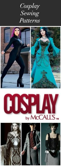 Yaya Han has produced a collection of patterns for McCall's! A cosplay-oriented blog is also linked here.