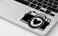 Photo camera macbook decal pro air vinyl nikon canon sticker decal mural…