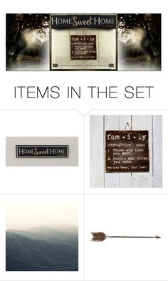 """""""Moving Day Banner"""" by alyssastar ❤ liked on Polyvore featuring art"""