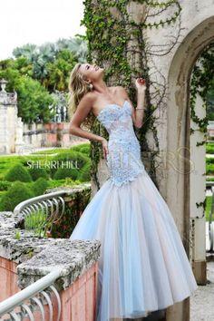 Rochie Sherri Hill 11155 Blue