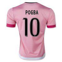 Juventus Away 2015-2016 Season POGBA #10 Soccer Jersey
