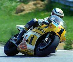 F Uncini RGγ500 Salzburgring 1983 by Nori