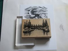 Welcome to Silverwolf Cards: Stampscapes & Scenic stamping. how to build a scene with the stamps