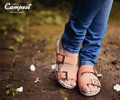 A birken Campesí é flexível, macia e aderente, trazendo segurança para o seu caminhar.