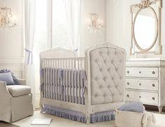 Chambre de bébé retro