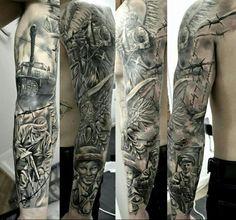 Poland Tattoo, Polish Tattoos, Patriotic Tattoos, Tattos, Sleeve Tattoos, Ink, History, Projects, Ideas