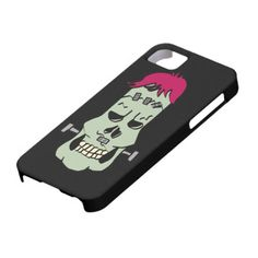 Frankenskull iPhone 5 Cover for you at www.zazzle.com/superdumb