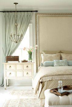 a little bit more blue - Cream Bedrooms Ideas