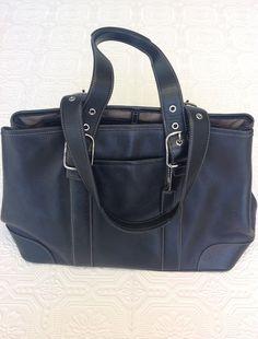 Coach Black Leather $86