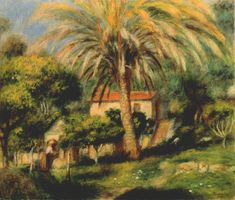 The palm tree, 1902 - Pierre-Auguste Renoir - WikiArt.org