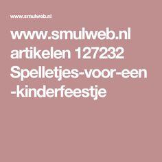 www.smulweb.nl artikelen 127232 Spelletjes-voor-een-kinderfeestje