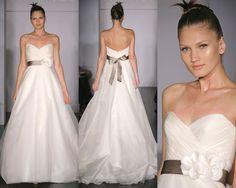 Amsale Wedding Dress | Thursday, July 1, 2010
