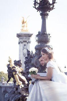 Parisian Couple | Romantic Civil Ceremony in Paris | Vincent Agnes Photography | Bridal Musings Wedding Blog