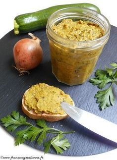 Pâtéde courgette (recette végétarienne)