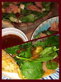 Lekker en leuk!: Spinaziesalade met zalm