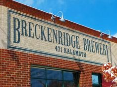 Breckenridge Brewing Co., Denver, Colorado (has tours)