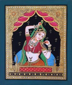 Mughal Paintings, Persian Miniatures, Rajasthani art and other fine Indian paintings for sale at the best value and selection. Mysore Painting, Tanjore Painting, Krishna Painting, Krishna Art, Saraswati Painting, Rajasthani Miniature Paintings, Rajasthani Painting, Rajasthani Art, Mughal Paintings