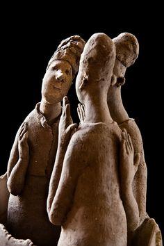 Sculpture de Sophie Favre by Martin Le Roy, via Flickr