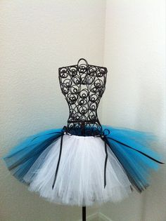 Alice in Wonderland Costume Tutu Size SMLG by BJEWELSANDTHINGS, $38.00