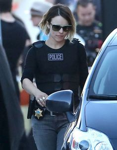 Rachel McAdams Photos: Stars Filming 'True Detective' In Los Angeles