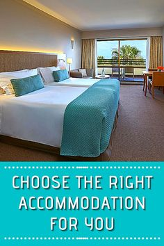 Where's the right place to stay? Should you choose a comfortable hotel? Or a basic campsite? Here's how to choose the right accommodation for you!