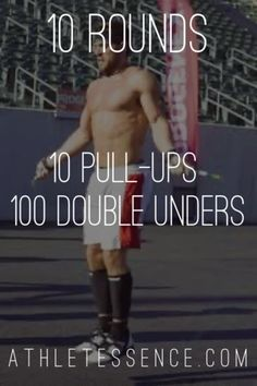 Crossfit, Jump Rope Workout, Wednesday Workout, Pull Up Bar, Getting Fired, Men's Fitness, Workout Challenge, Getting Things Done, Circuit