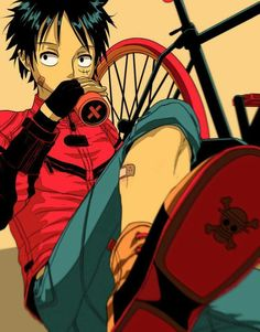 One Piece #monkeydluffy #mugiwaraboy