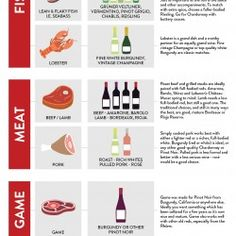 Roberson Wine- Food and Wine Pairing | Visual.ly