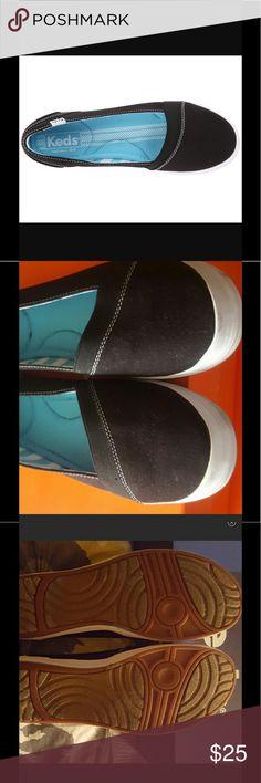 NWOT Keds Cali Slip-On NWOT Black Keds sz 10 style is Cali Slip-on Keds Shoes Flats & Loafers