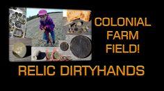 Metal Detecting Colonial Farm Fields!