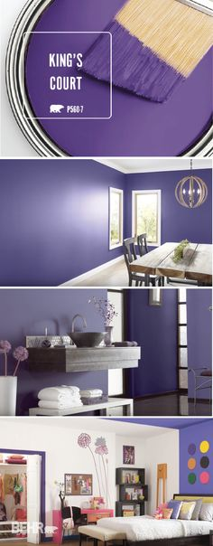 Behr Color Of The Month King S Court