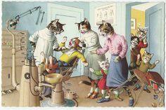 Eugen Hartung - Illustrator for Alfred Mainzer Postcards