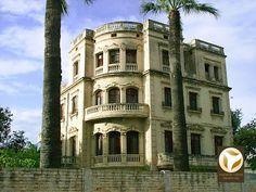 CASAS Y TORRES DE LA HUERTA 9: LAS VILLAS RESIDENCIALES (XVIII-XIX) PARTE 1 ~ Alicante Vivo- Finca Buenavista (Prytz) antes de su restauración. Fue reedificada en el siglo XIX